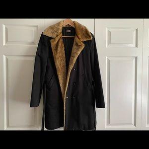 Dior Homme Black Jacket Coat Sz. 40